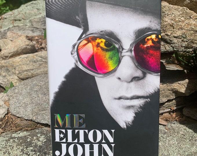 Elton John ME Hardcover Book Rocketman Bernie Taupin Captain Fantastic Bennie & the Jets Crocodile Rock The Who Eric Clapton Paul McCartney