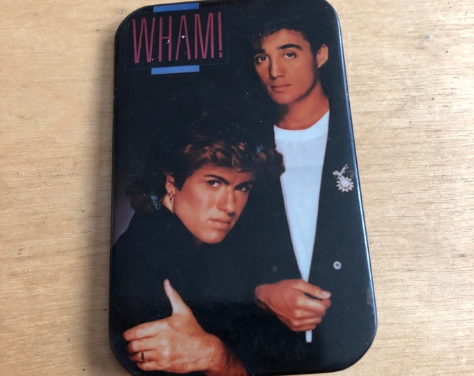 Vintage WHAM George Michael Pin Badge Pinback Careless Whisper Pins Arcadia Culture Club Spandau Ballet Tears for Fears INXS Duran Duran