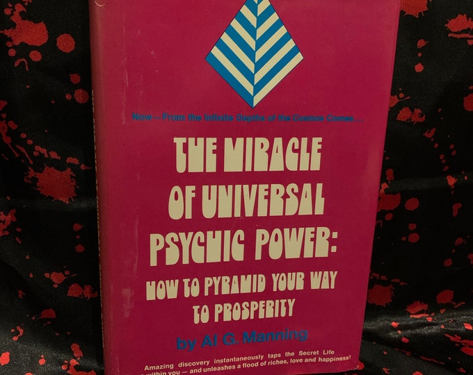 Vintage 1974 The Miracle Of Universal Psychic Power Hardcover Book Astrology Spiritual Healing Palmistry Fortune Teller Stars Witchcraft
