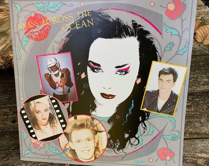 Vintage 1984 Boy George Culture Club Tour Book George Michael Pete Burns Duran Duran Spandau Ballet Tears for Fears Pere Ubu The Slits