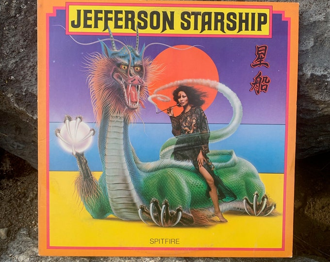 "Jefferson Starship Spitfire 12"" Vinyl LP Record Album Grunt Records BFL1-1557 Grace Slick Paul Kantner Marty Balin Gary Wright The Babys"