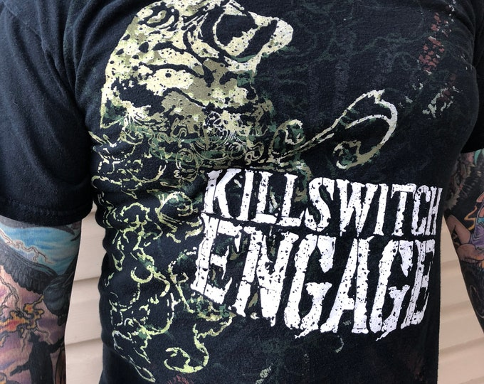 Killswitch Engage 2009 Canadian Tour shirt Death Metal (MED) Heavy Metal Metalhead Arch Enemy Machine Head Lamb of God Trivium Fear Factory