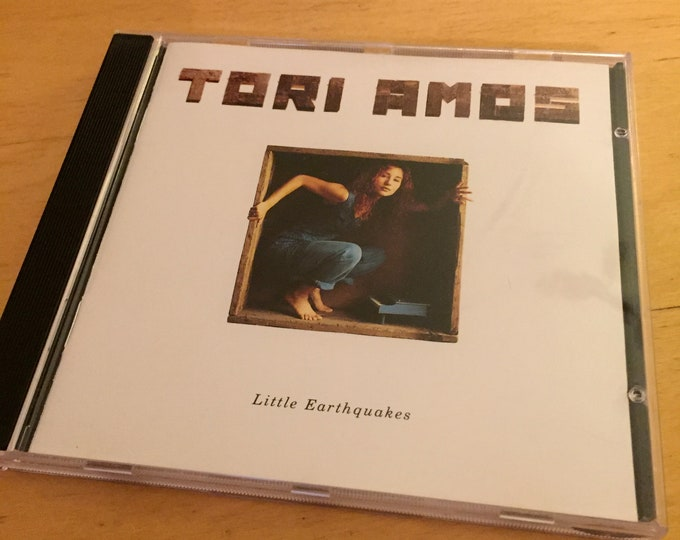 Tori Amos  Little Earthquakes CD ..... Kate Bush Bjork Fiona Apple PJ Harvey Cyndi Lauper Piano Joni Mitchell Sheryl Crow Regina Spektor