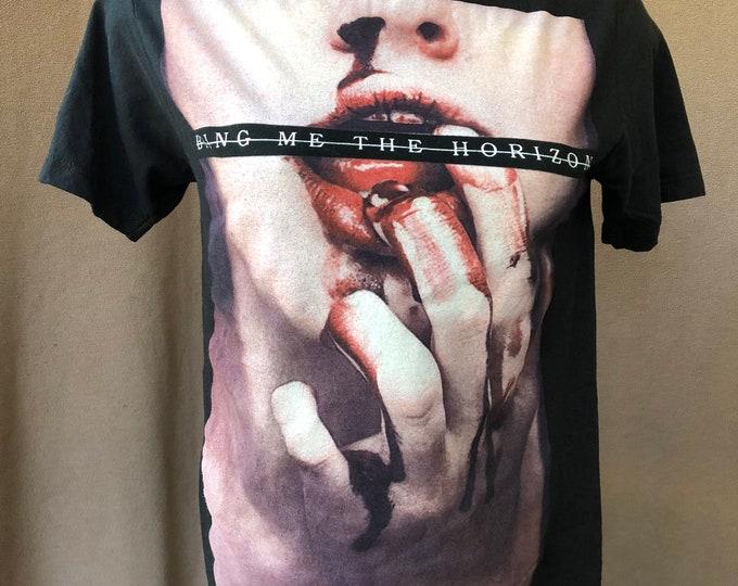 Bring Me The Horizen Band shirt (M) Metalcore heavy metal Alt Rock Oliver Sykes Jordan Fish Lee Malia Band Tee  Slipknot Asking Alexandria