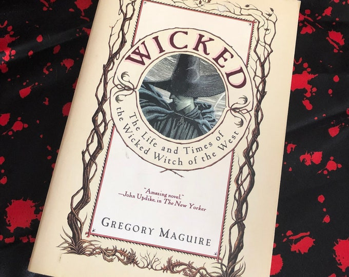 Vintage Wicked: The Life and Times of the Wicked Witch of the West is a novel published in 1995, written by Gregory Maguire The Wizard Of Oz