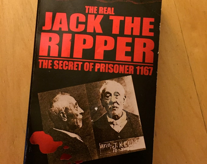 Jack the Ripper - Softcover Book 2005 gothic whitechapel serial killer murder James Tully True Crime Real Crime Serial Killers Mystery Books