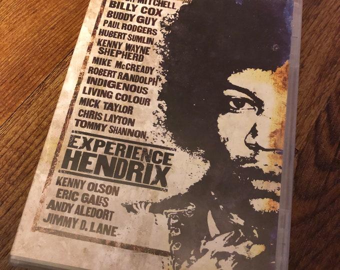Experience Hendrix DVD Mitch Mitchell Billy Cox Buddy Guy Paul Rogers Eric Gales Kenny Olson Mick Taylor Jimi Hendrix MikeMcCready Woodstock