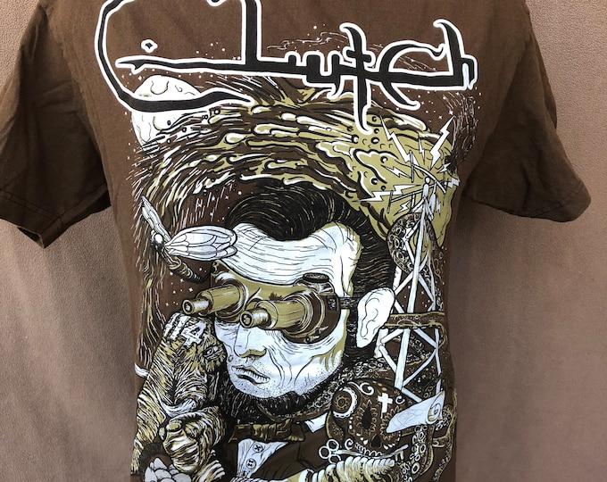 Clutch Band shirt (Med) Stoner Blues Psychedelic Neil Fallon Stoner Kyuss Baroness Band Tee Blast Tyrant The Sword Fu Manchu Monster Magnet