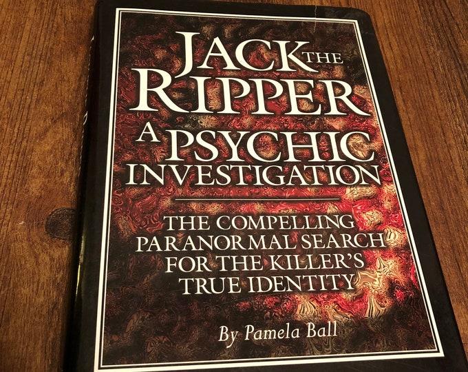 Jack the Ripper A Psychic Investigation - Hardcover Book gothic  serial killer murder Crime Mystery London Serial Killers Murder True Crime