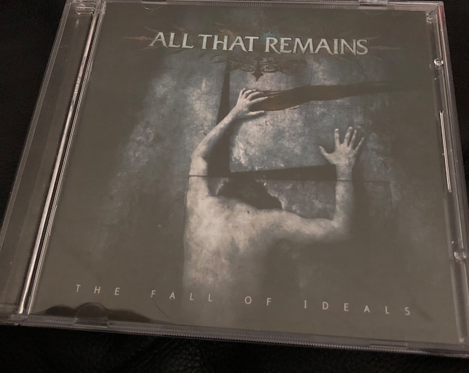 All That Remains The Fall Of Ideals CD Metalcore False Idol Veil of Maya Whitechapel Animals as Leaders Killswitch Engage As I lay Dying