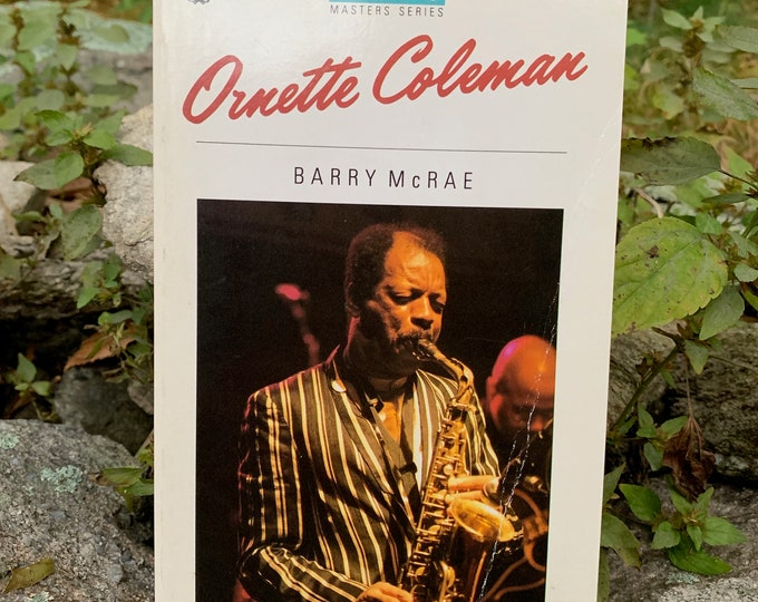 1988 Ornette Coleman Softcover Book Miles Davis Jazz John Coltrane Charlie Parker Herbie Hancock Thelonious Monk Duke Ellington Mingus Blues