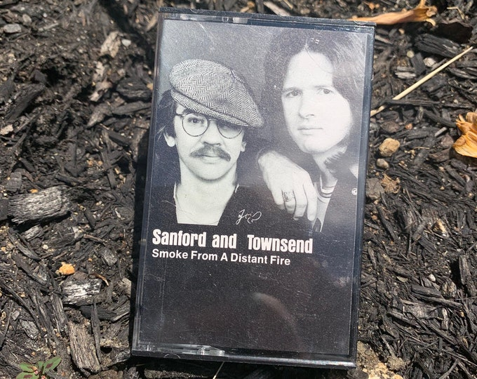 Vintage 1976 Sanford & Townsend Cassette Tape Bob Seger Creedence Clearwater Revival Bruce Springsteen Pete Townshend Bread Jackson Browne
