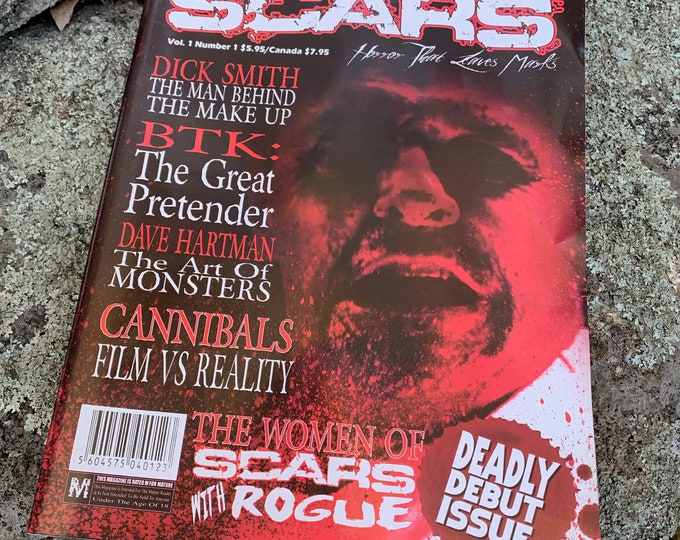 Scars Monsters Magazine Debut Issue 2006 Horror FX BTK Serial Killers Gore Slasher Hostel The Exorcist Witchcraft Satanic Halloween Monsters