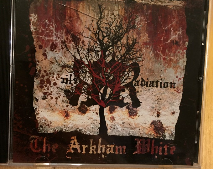 The Arkham White CD  Relic Radiation EP Boston Metal Hardcore Metalcore Grindcore Metalhead CDs headbanger moshpit moshing circlepit Djent