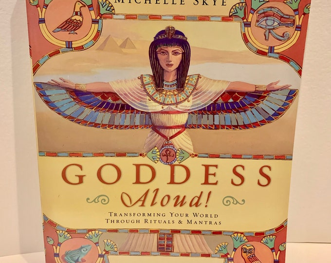 Goddess Aloud of the Moon Spells Astrology 2010 Softcover Book Witchy Astrologist Astrology Psychic Horoscope Witchcraft Crystals Mantra