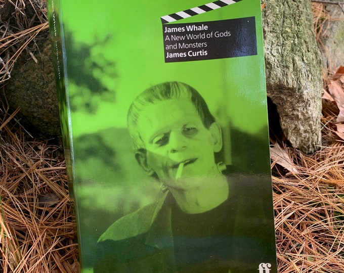 RARE VINTAGE James Whale Biography Softcover book 1998 Frankenstein Gods and Monsters Universal Monsters Horror Boris Karloff Hollywood Gay