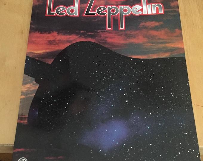 Led Zeppelin Acoustic Classics Vol. 2 - 1995 - Guitar Tab Edition Jimmy Page Robert Plant Guitar Tab Yardbirds Jeff Beck Les Paul Guitars