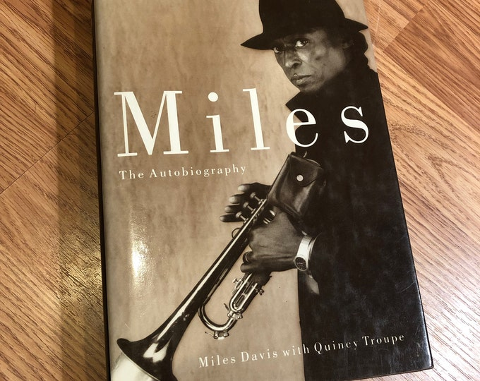 Miles Davis The Autobiography Down Trumpet Book Jazz John Coltrane Charlie Parker Herbie Hancock Thelonious Monk Duke Ellington Mingus Blues