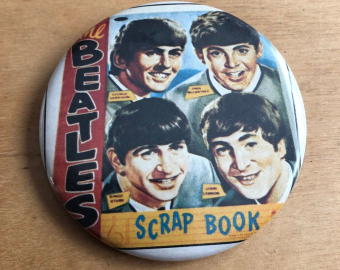 Vintage The Beatles Pin Badge Pinback Paul McCartney John Lennon Ringo Starr George Harrison Abbey Road The Rolling Stones The Kinks Apple