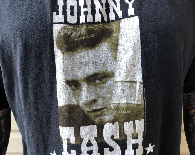 JOHNNY CASH XXL Zion  band shirt  Ring Of Fire Country nin Trent Reznor Band Tee Country Music Folsom Prison Sun Records June Carter cma cmt