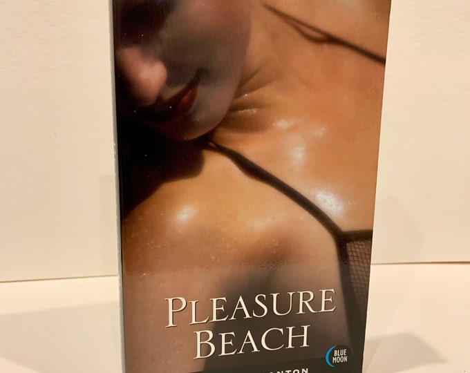 Pleasure Beach Adult Novel 1993 Kinky Softcover Book Sexual Erotica Corset Burlesque BDSM Bondage Shibari Kinbaku Sex Fetish Relationships