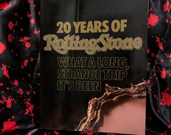 20 Years of Rolling Stone Magazine Softcover Book 1987 Beatles Doors Culture Club Bob Dylan Keith Moon Little Richard Bruce Springsteen