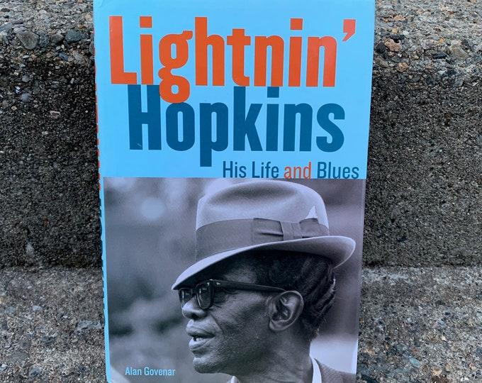 Lightnin Hopkins Hardcover Book Muddy Waters Willie Dixon BB King Little Walter Robert Johnson Elmore James Buddy Guy Howlin Wolf ZZ Top