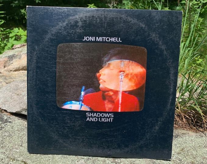 Joni Mitchell - Shadows and Light LIVE Vinyl 2LP 1980 Asylum BB-704 Gatefold Record LP Jaco Pastorius Pat Metheny Lyle Mays Michael Brecker