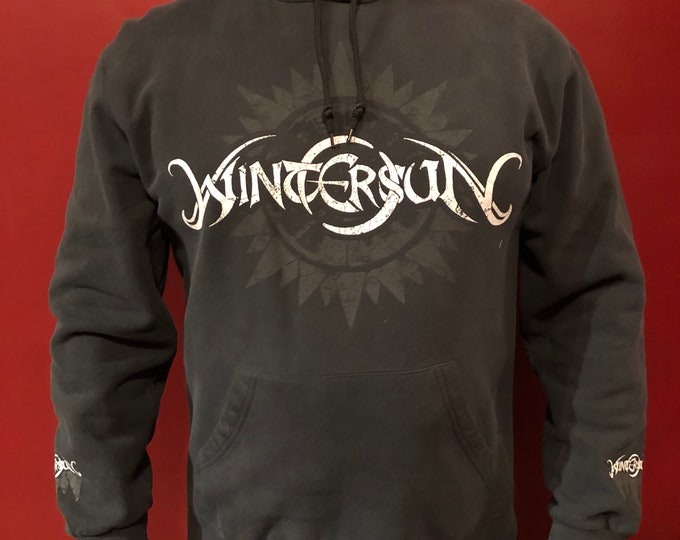 Wintersun Hoodie (L) Epica Delain Kamelot Xandria Sonata Arctica Arch Enemy Within Temptation Blind Guardian Stratovarius NIghtwish Kings X