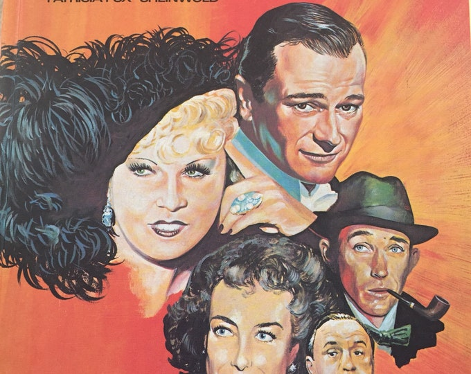 1981 Gone but not Forgotten Hardcover by Patricia Fox-Sheinwold - Walt Disney Boris Karloff Alfred Hitchcock Mae West
