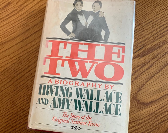 Vintage 1978 The Two Chang and Eng Biography Siamese Twins Sideshow Freak Freaks Freakshow Carnival Circus Johnny Eck Grady Stiles Barnum