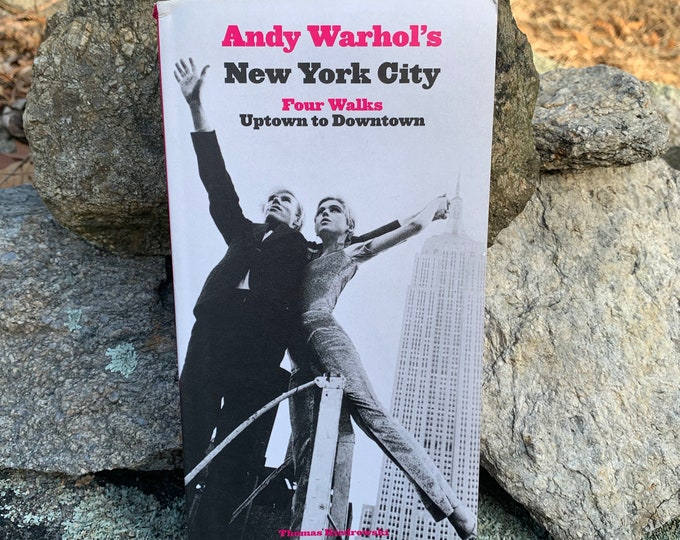 Andy Warhol New York City Softcover Book Velvet Underground Lou Reed Edie Sedgwick Allen Ginsberg John Cale Jim Morrison David Bowie Nico