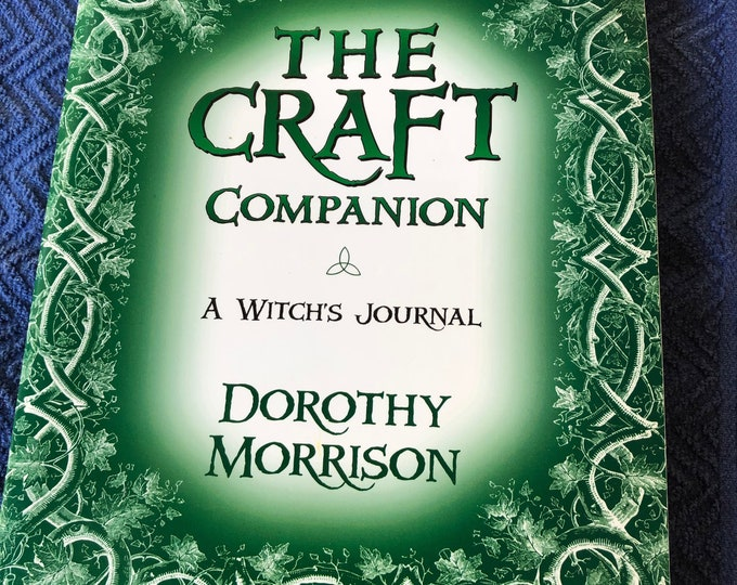 The Craft Companion Softcover Book Wiccan Witch Psychic Pagan Magick Witchcraft Coven Spiritual Gothic Coven Spellbook Fairies Stevie Nicks