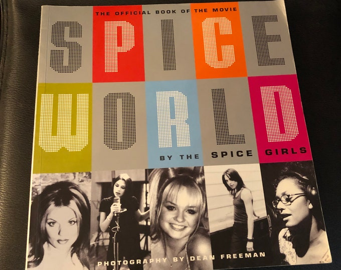 Vintage 1997 Official Spice World Movie Book The Spice Girls Mel B Geri Halliwell Victoria Beckham Melanie C Emma Bunton The Pussycat Dolls