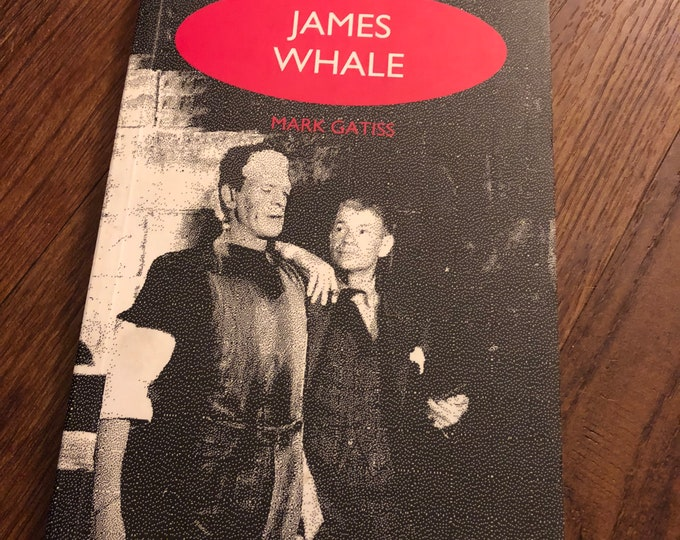 RARE VINTAGE James Whale Biography Softcover book 1995 Frankenstein Gods and Monsters Universal Monsters Horror Boris Karloff Hollywood Gay