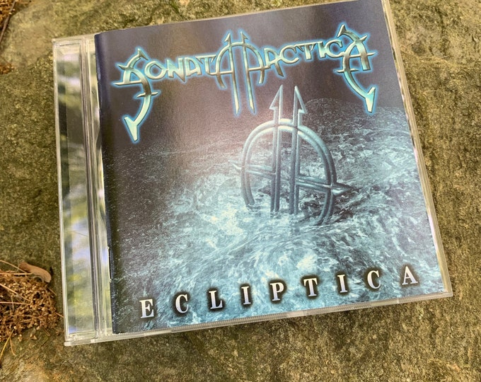 Sonata Arctica Ecliptica CD PowerMetal Powerwolf Amon Amarth Nightwish Kreator Hammerfall Edguy Blind Guardian Delain  Arch Enemy Kamelot