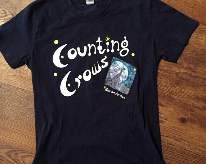 Counting Crows (XL)  Band shirt Tour Shirt New Amsterdam Mr Jones Adam Duritz Third Eye Blind Goo Goo Dolls Gin Blossoms Collective Soul