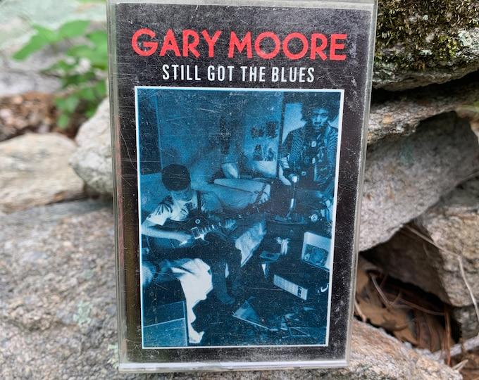 Gary Moore Still Got The Blues Cassette Tape Johnny Winter Thin Lizzy Phil Lynott Jeff Beck Joe Bonamassa Rory Gallagher Alvin Lee Guitar