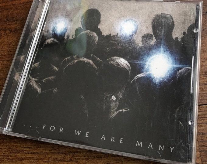 All That Remains For We Are Many CD Metalcore False Idol Veil of Maya Whitechapel Animals as Leaders Killswitch Engage As I lay Dying Metal