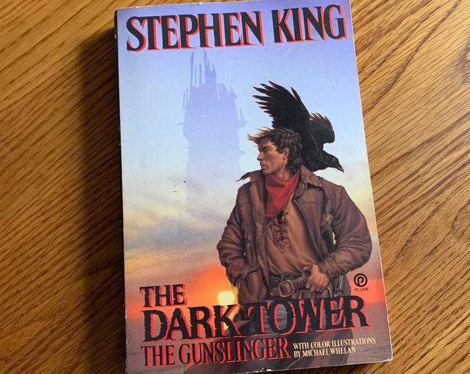 1982 The Darktower The Gunslinger Stephen King Pet Sematary Horror Witchcraft Gothic Mystery The Shining Dead Zone Dolores Claiborne Cujo