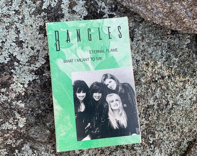 Vintage The Bangles Single Cassette Tape Susanna Hoffs B52s Til Tuesday Slits Runaways The Gits Joan Jett Gogos Lita Ford Belinda Caelisle