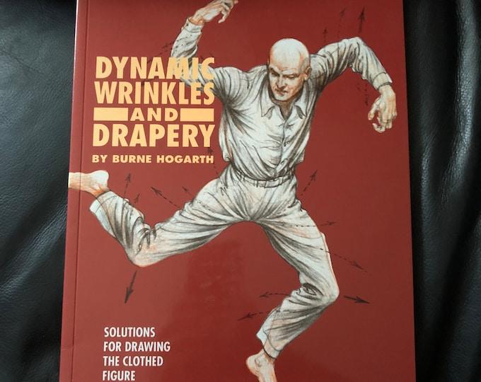 Vintage Drawing Wrinkles & Drapery Book 1995 Clothing Artwork Artist Sketch Arts Art Instruction Ink Pen Pencils Sketchbook Crayons Micron