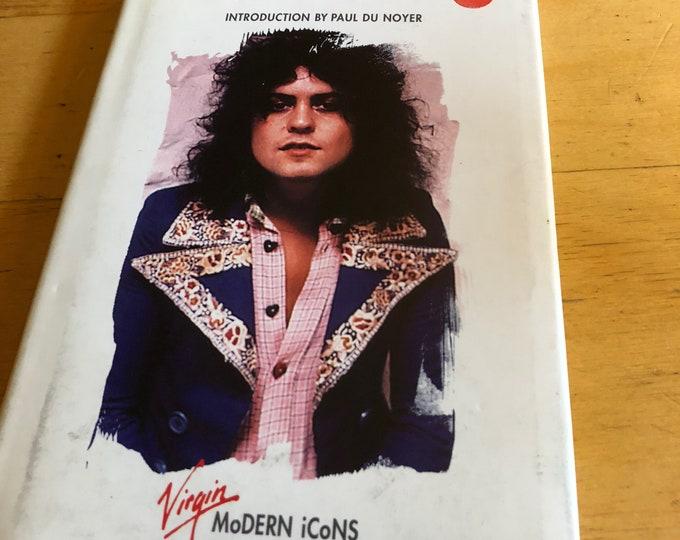 Vintage Marc Bolan Hardcover Book 1997  T Rex Glam Electric Warrior Bang A Gong RocknRoll Rock Star Teen Idol Virgin Modern Icons Jeepster