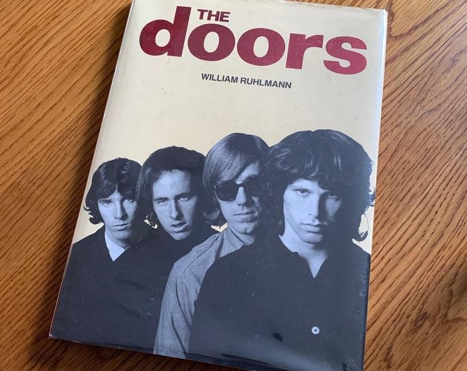 Vintage 1991 The Doors Jim Morrison Hardcover Book  Poet Poetry Bob Dylan Jim Carroll Books Oscar Wilde Patti Smith Val Kilmer Andy Warhol