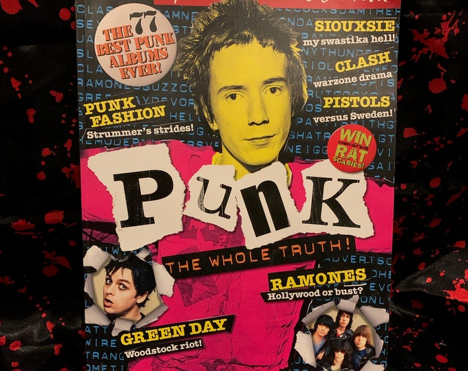 Mojo Magazine Limited Edition Punk Special 2005 Sex Pistols John Lydon Johnny Rotten Sid Vicious Ramones Green Day Siouxsie Sioux The Clash