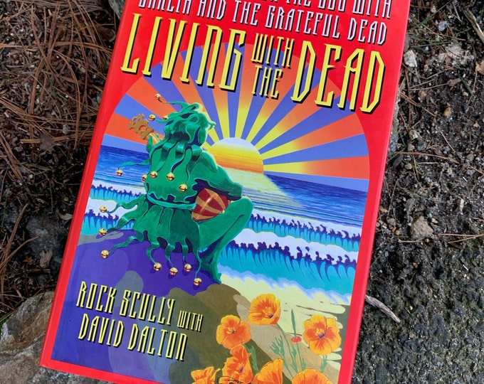 Vintage 1991 Conversations with the Dead Jerry Garcia Grateful Dead Hardcover Book Bob Weir Woodstock Psychedelic Jim Morrison Drugs Hippies