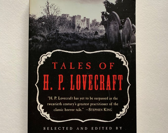 HP Lovecraft 1997 Paperback Book I am Providence Horror Edgar Allan Poe Stephen King Horror Dagon Ghosts Monsters The Call of Cthulhu Terror