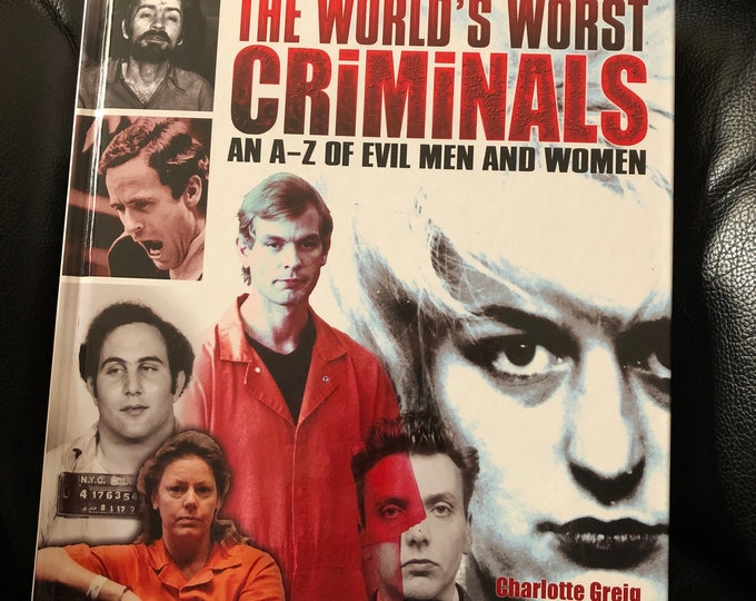 Serial Killers 2007 Book Jeffrey Dahmer Serial Killers Richard Ramirez Crime Mystery TrueCrime Ted Bundy John Wayne Gacy Zodiac Killer Evil