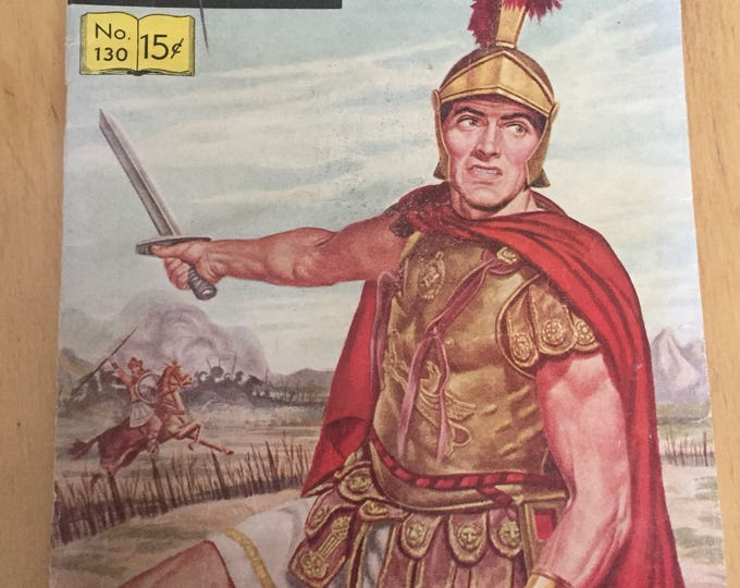 1950s Comic - Caesar's Conquest - No. 130 - Classics Illustrated