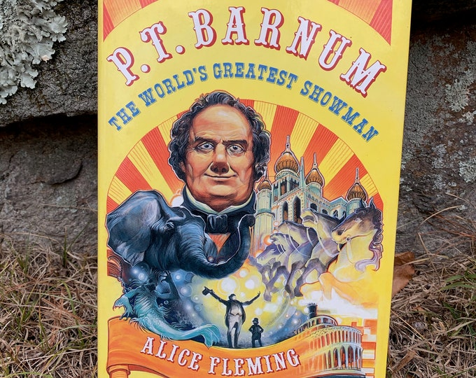 Vintage PT Barnum The Worlds Greatest Showman Circus Carnival Book Freaks Freakshow Sideshow Mutter Museum Conjoined Twins Siamese Twins